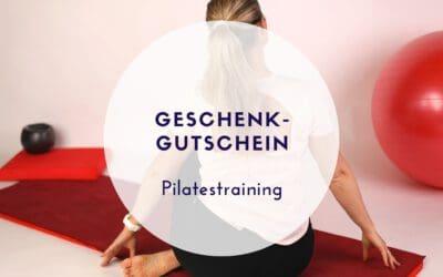 Pilatesgutschein verschenken