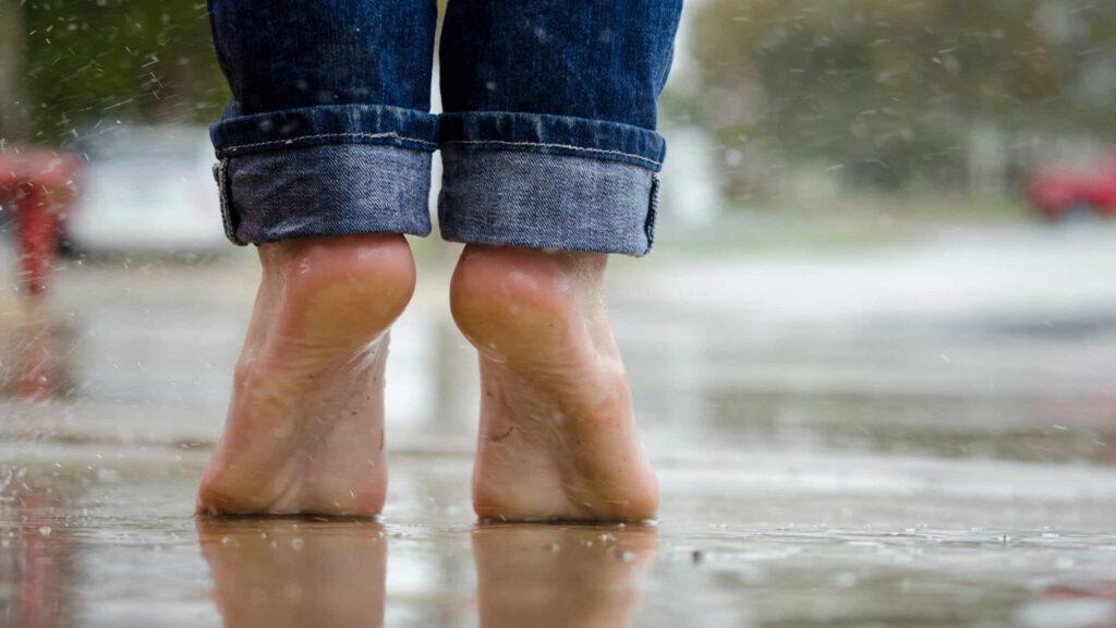 die richtige Absatzhöhe in einem rückengesunden Schuh
