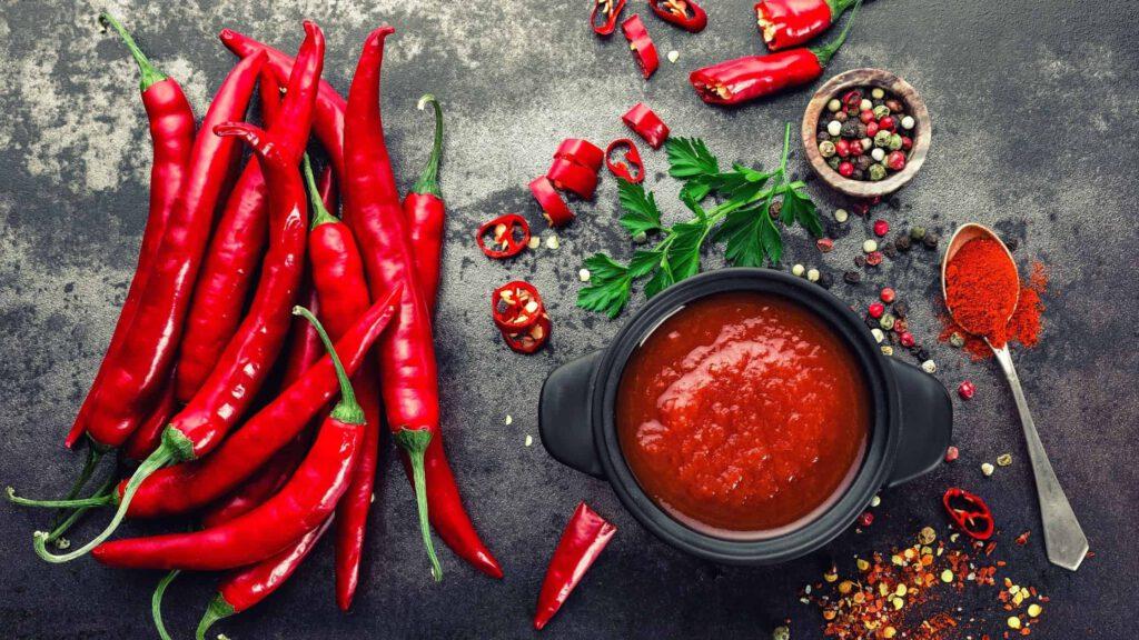 Kräuter gegen Verspannungen Chili