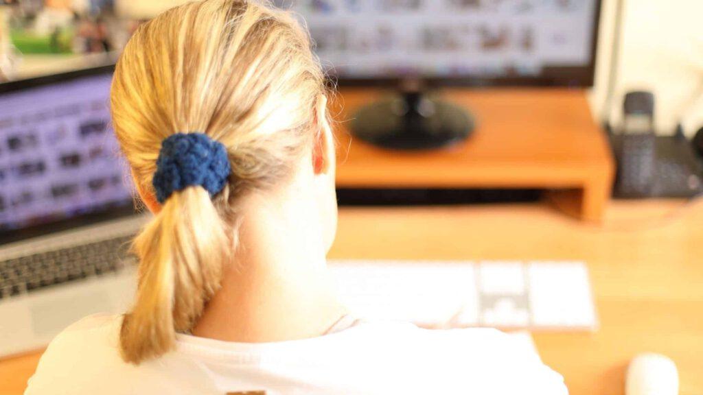 Rückengesund am Schreibtisch