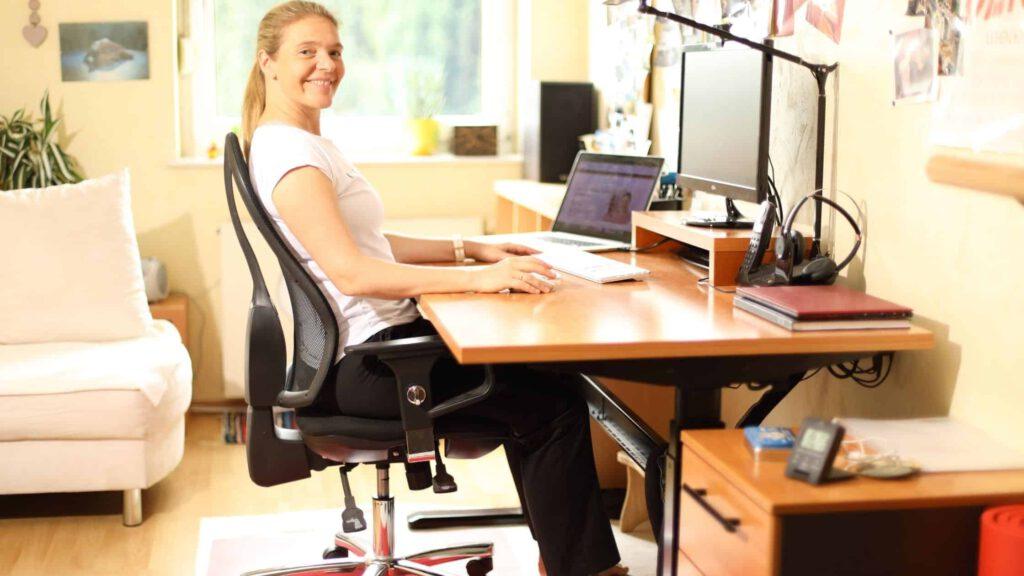 ergonomisch richtig sitzen