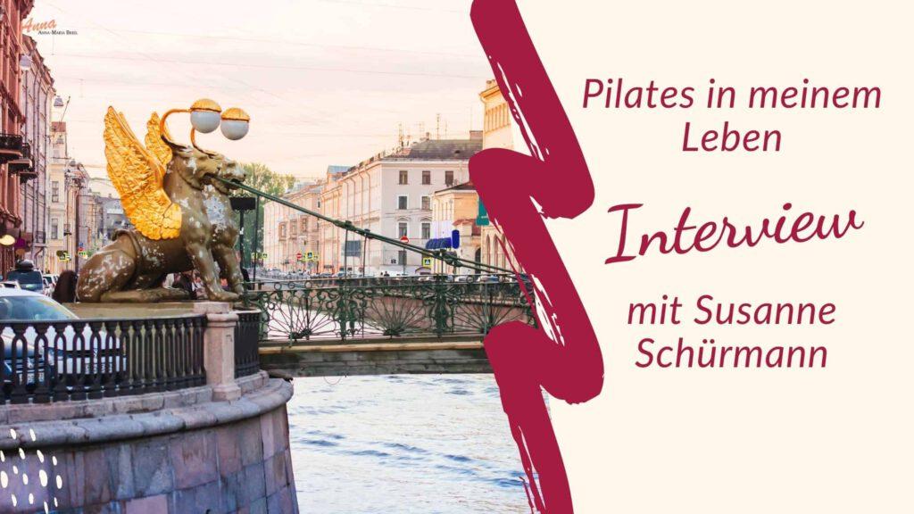 Blogbanner Pilates Erfahrung von Susanne Schürmann