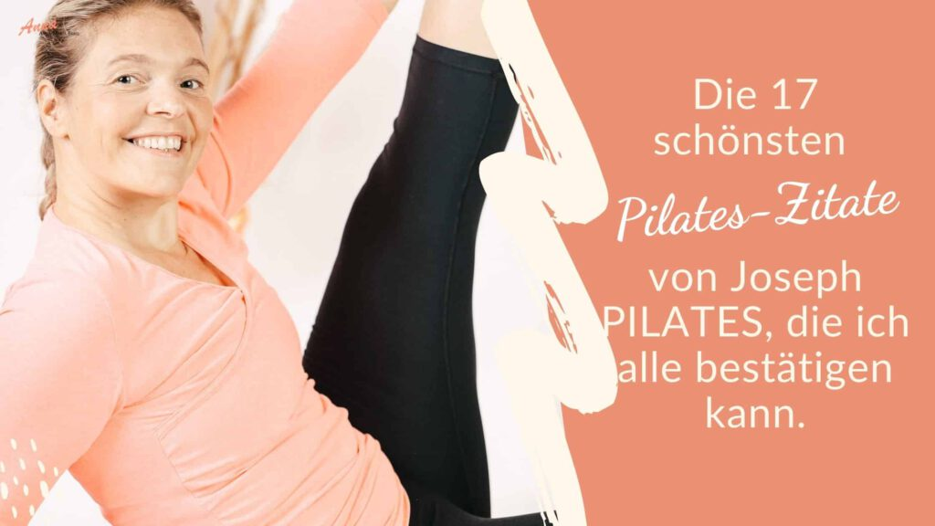 Blogbanner die 17 schönsten Pilates Zitate