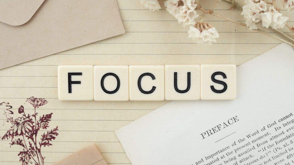 Fokus statt Multitasking